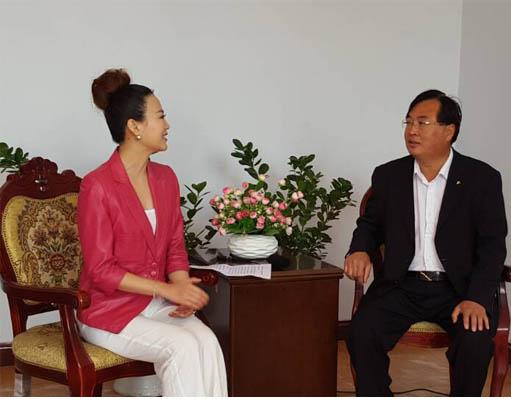 邢台广播电视台健康风景线栏目主持人王沛
