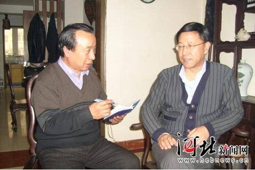 韩中清深入基层采访              河北新闻网讯(张海健,韩仲义)