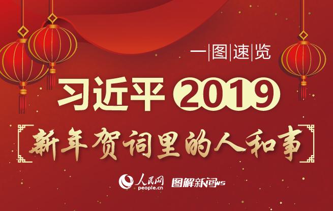 一图速览习近平2019新年贺词里的人和事-中国报协网 传媒 人民网